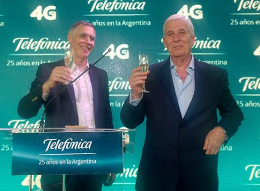 Telefónica de Argentina invertirá más de 3.600 millones de dólares en los próximos 3 años