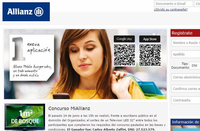 Nuevas funciones en app y web de Allianz
