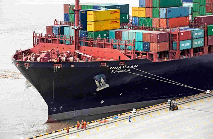 DHL inauguró servicio ecológico para envíos marítimos