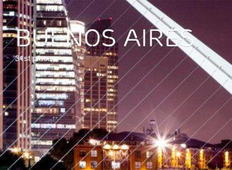 Buenos Aires en el puesto 28 del Ericsson Networked Society City Index 2016