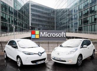 La Alianza Renault-Nissan y Microsoft trabajan en conducción conectada