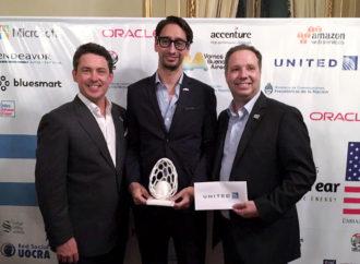 "United Airlines presente en ""Argentina-U.S. Entrepreneur of the Year"""