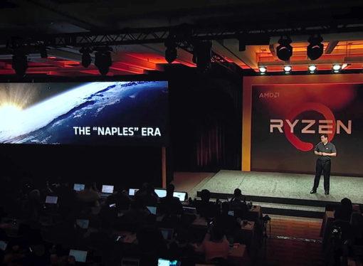 AMD anticipa sus procesadores de alto rendimiento para servidores Naples