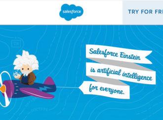 Salesforce lanzó Einstein Artificial Intelligence
