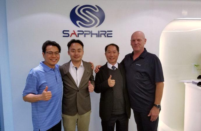 ASRock firmó una alianza estratégica con SAPPHIRE