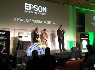 Epson lanzó su nueva línea de impresoras Workforce Pro