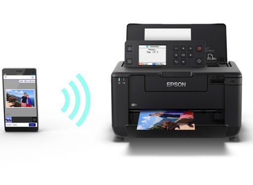 Epson presentó su nueva impresora fotográfica, portátil e inalámbrica