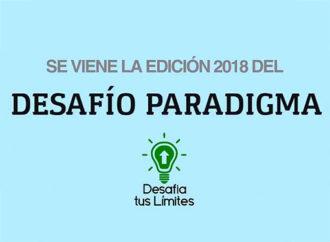 """Paradigma lanzó el concurso """"Desafío Paradigma 2018"""""""