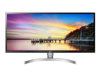 LG presentó un monitor ultrawide HD para profesionales de diseño y animación digital