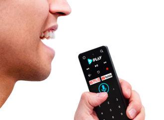 TeleCentro presentó control remoto con comando por voz