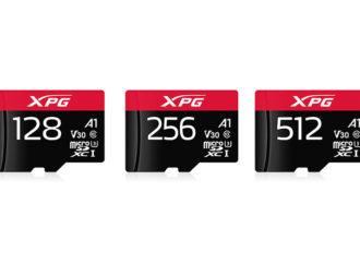 ADATA lanzó las tarjetas MicroSDXC UHS-I U3 Clase 10 de XPG