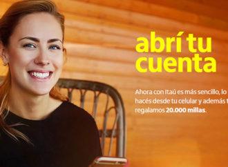 Itaú lanzó una solución 100% digital para abrir una cuenta