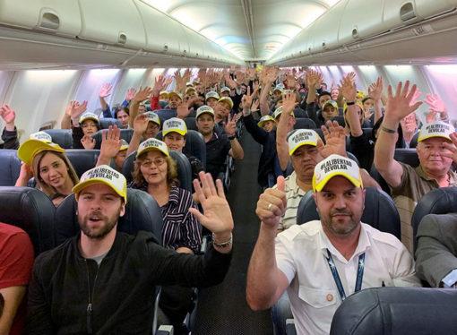 Flybondi realizó su primer vuelo internacional