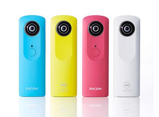 Ricoh lanzará las cámaras Theta y apuesta fuerte a la impresión 3D