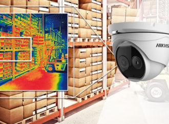Hikvision presentó la cámara térmica biespectral Deep Learning Turret