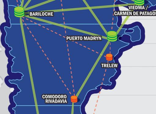 CABASE sumó un punto de interconexión regional a internet en Comodoro Rivadavia