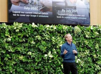 Microsoft busca ser carbono negativa para el año 2030