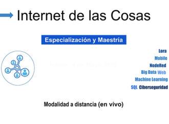 Primer posgrado sobre internet de las cosas en la Argentina