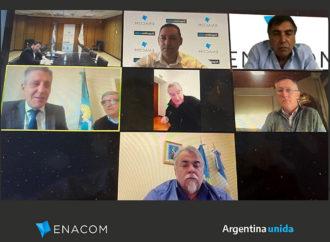 Reunión virtual con el gobierno de Chubut para desarrollar conectividad