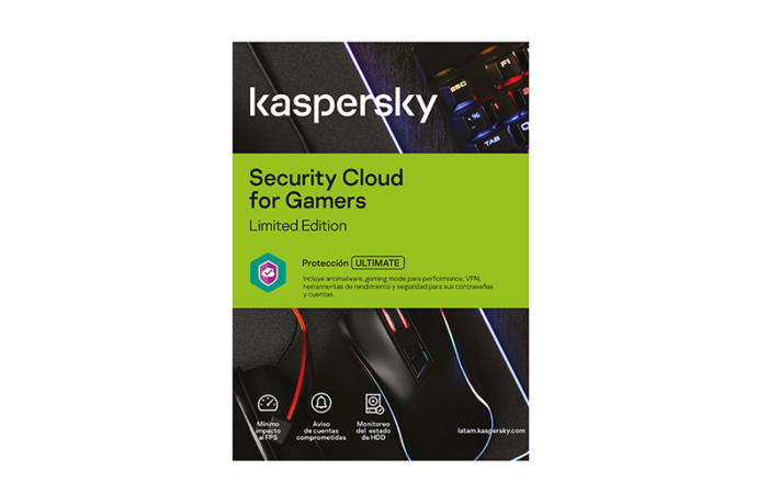 Kaspersky lanza edición especial de Security Cloud para gamers