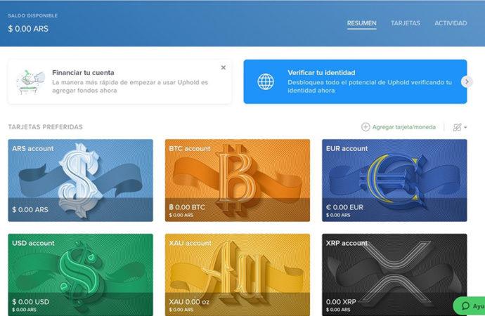 UpHold lanzó servicio de trading 24/7