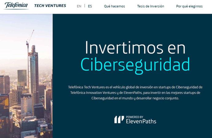 Nace Tech Ventures, el vehículo inversor de Telefónica especializado en ciberseguridad