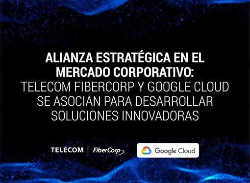 Telecom Fibercop y Google Cloud se asocian para desarrollar soluciones innovadoras