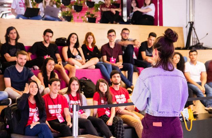 Jóvenes chilenos en el desafío Tetrix