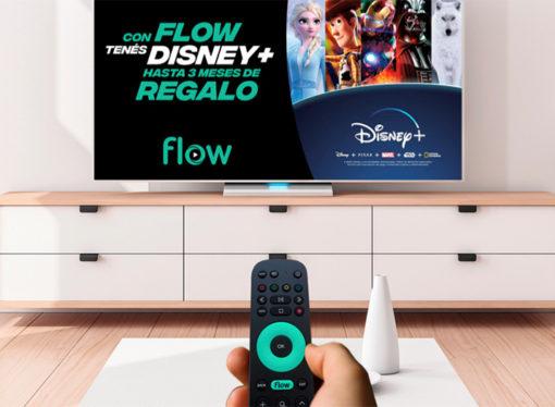 Flow integra a Disney+ a su plataforma y lanza una oferta especial para sus clientes